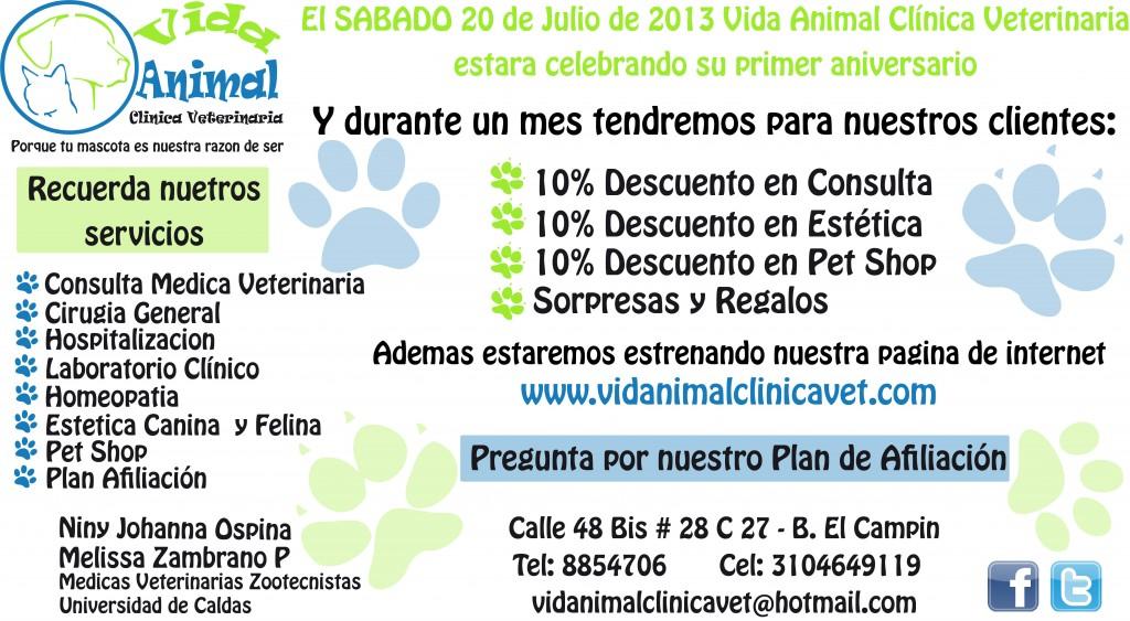 Aniversario-Vida-Animal-Clinica-Veterinaria-Manizales-24-horas-urgencias